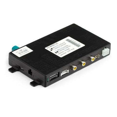 Видеоинтерфейс для BMW 523, 530, 3 (E90), X5, X6, 7 c системой CIC (с круглым коннектором)
