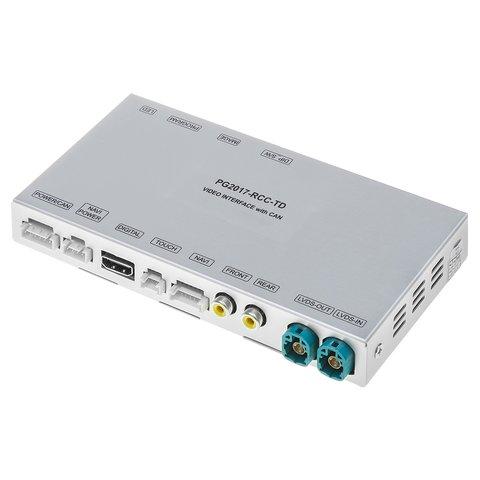 Відеоінтерфейс для Citroën, Peugeot з мультимедійною системою NAC