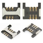 SIM Card Connector compatible with Blackberry 8800, 8820, 8830, 9000