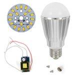 LED Light Bulb DIY Kit SQ-Q17 9 W (warm white, E27), Dimmable