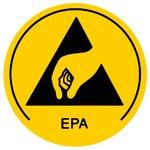 Etiquetas autoadhesivas de advertencia Warmbier 2850.10