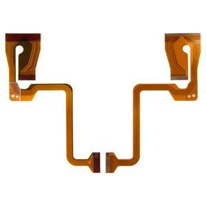 Cable flex para videocámaras JVC GR-D815, GR-D820, GR-D822, GR-D824, GR-D825, GR-D826, GR-D850, GR-D859, GR-D870, para pantalla
