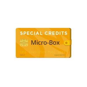 Créditos especiales Micro-Box