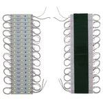 Juego de 20 módulos LED SMD 5050 (3 diodos LED por módulo, color blanco, 1200 lm, 12 V, IP65)