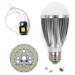 Комплект для сборки светодиодной лампы SQ-Q03 9 Вт (теплый белый, E27)