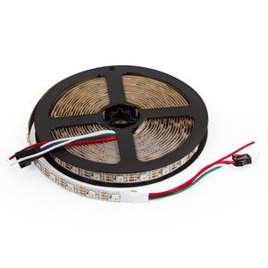 Светодиодная лента SMD5050, WS2812B (белая, с управлением, IP20, 5 В, 60 диодов/м, 5 м)