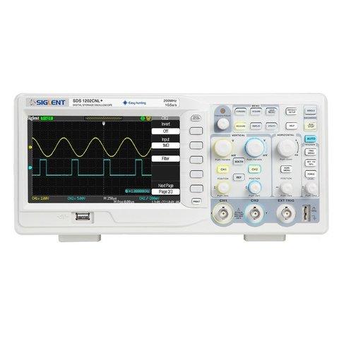 Цифровий осцилограф SIGLENT SDS1202CNL+
