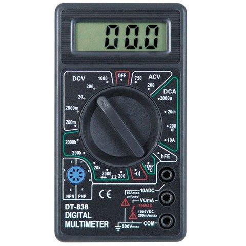 Цифровий мультиметр DT 838