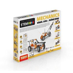 STEAM-конструктор Engino Механіка: колеса, осі та похилі площини