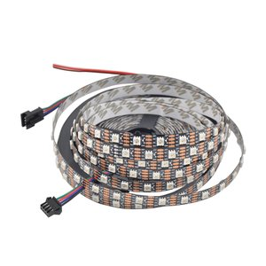 RGB LED Strip SMD5050, WS2813 (with controls, black, IP20, 5 V, 60 LEDs/m, 5 m)