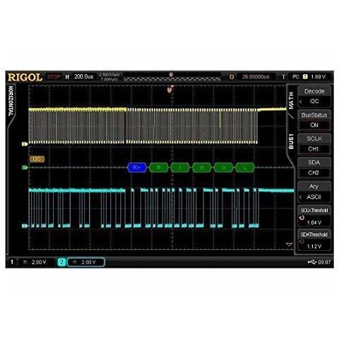 Software Option RIGOL SD I2C SPI DS6 for Decoding I2C, SPI